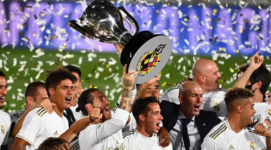 Câu lạc bộ hoàng gia Real Madrid giành chức vô địch