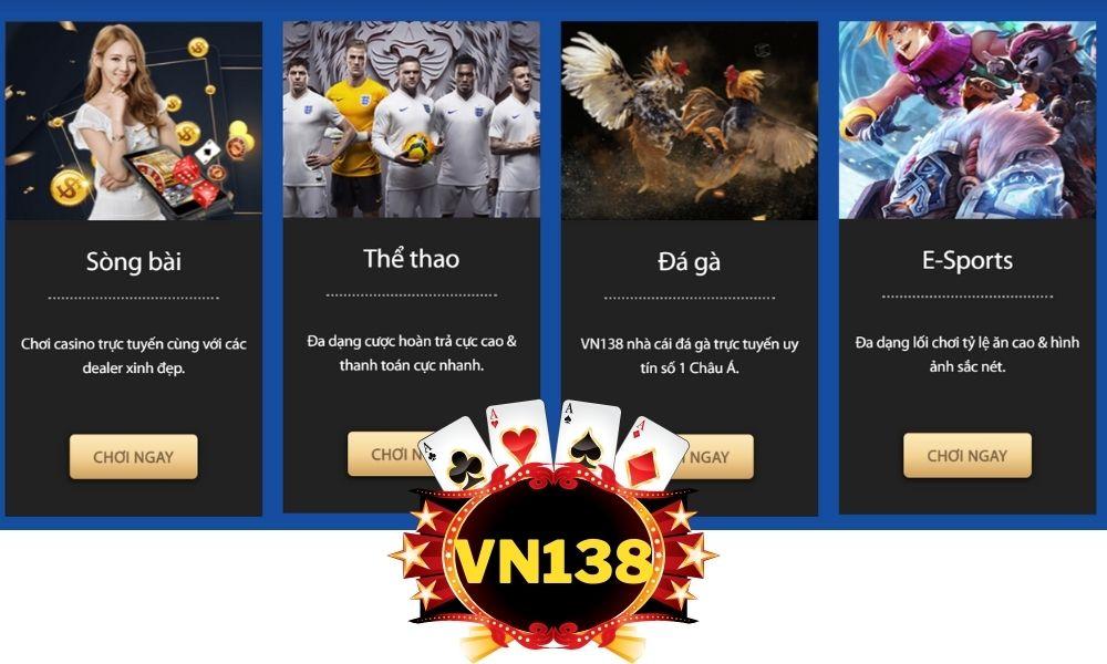 Tham gia cá cược cùng nhà cái VN138
